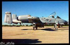 A-10A Warthog postcard Fairchild Republic A-10 Thunderbolt II   *03a