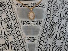 1910-15 Gibson Girl  White Long Cool Cotton Lawn Dress w. Lace Grad / Wedding M