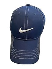 Unh Nike Golf Tech Cap/Hat -Navy Blue Adult Unisex; New.