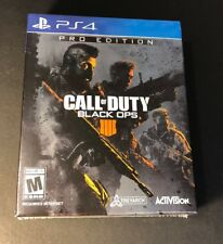 Call of Duty Black Ops 4 Pro Edition [ STEELBOOK Pack + Season Pass ] (PS4) NEW