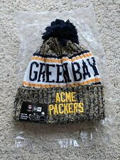 New Era Green Bay ACME Packers 2018 Sideline Winter Adult Knit Beanie Hat