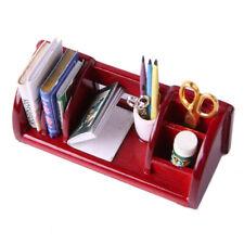1/12 Puppenhaus Miniatur Wohnmöbel Bücherregal Studie Tisch Lagerung