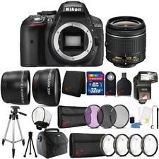 Nikon D5300 24.2MP DSLR Camera 18-55mm Lens + TTL Flash and Accessory Bundle