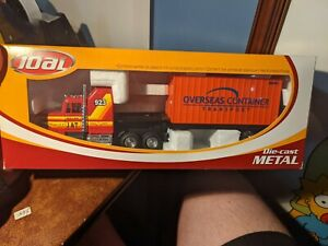 Joal Diecast Metal Transport Container Truck Model 1:50