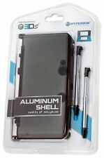 NEW GRAY Aluminum Shell with 2 Retractable Stylus Pens for the OLD Nintendo 3DS