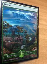 1x Forest #11 Extended S-Type Full Art Custom Altered Basic Land MTG