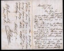 1880 James G Blaine - House Speaker - Stocks & Bonds SUPERB Letter Signed ALS