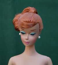 VHTF TITIAN RED HAIR SWIRL PONYTAIL Vintage BARBIE Repro NEW AWESOME