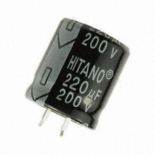 ELP 1000uF 100 V (22x30mm) CONDENSATORE ELETTROLITICO accoppiamento a scatto ELP102M2ABA