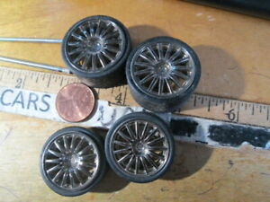 4Rims and 4Tires Parts FOR JADA LIMBORGHINI GALLARDO SCALE 1/24 - DIORAMAS