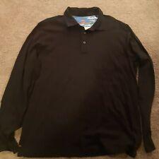 New listing Tommy Bahama Long Sleeve Ruby Polo * Size LG* Pima Cotton