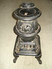 ANTIQUE POT BELLY STOVE, Wood Stove ONLY 22 inches TALL