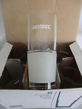 6 Absolut Wodka Gläser Tumbler 33 cl Neu und in OVP   siehe Fotos