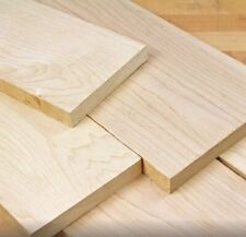 5/4 Hard Maple Hardwood Lumber up to 5 FT! CHOOSE YOUR SIZE Kiln Dried !