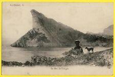 cpa LA CIOTAT (Bouches du Rhône) Le BEC de l'AIGLE Animée Promontoire Rocheux
