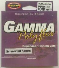 Gamma Polyflex Copolymer Fishing Line, 20 lb 275 yds, Clear New