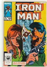 Iron Man #203 Madame Masque 9.4