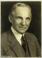 HENRY FORD Signed Photograph - Automotive Entrepreneur - preprint