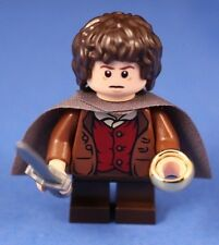 LEGO® LORD OF THE RINGS™ 9470 FRODO BAGGINS™ Dark Gray Cape + THE RING of POWER