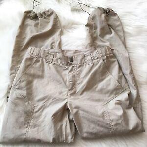 Columbia  Men's Tan Pants Size Medium32/32 Inseam Insect Blocker drawstring hem