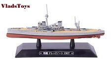 Eaglemoss 1:1100 British Royal Navy battleship HMS Dreadnought 1907 #52