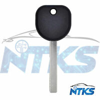 New Replacement for Chevrolet HU100 B119 ID46 GM EXT Transponder Key 2010 - 2019