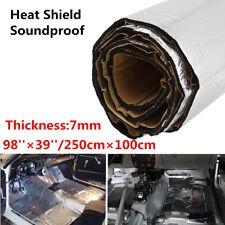7mm Car Heat Shield Firewall Sound Deadener Insulation Deadening Aluminum Foil
