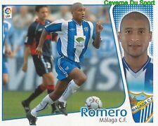 MARCELO ROMERO URUGUAY MALAGA.CF CROMO STICKER LIGA ESTE 2005 PANINI