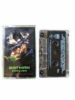 BATMAN FOREVER Soundtrack Cassette Motion Picture Soundtrack Tape Val Kilmer