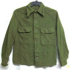 *SALE* U.S. ARMY M-1951 COLD WEATHER FIELD WOOL OG108 UTILITY FATIGUE SHIRT- MED