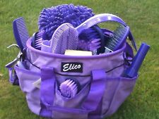 Grooming Kit & Organiser Carry Bag 13 Piece Deluxe Horse Kit & Bag *Great Gift*