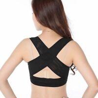 Corrector de postura de espalda hombro ajustable de mujer senora Cinturon d E8L7
