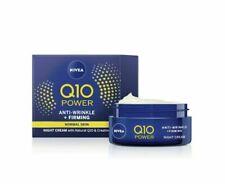 TWO PACK NIVEA Q10 Power Anti-Wrinkle + Firming Revitalising Night Cream - 50 ml