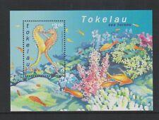 Tokelau - 2001, Seahorses sheet - MNH - SG MS324