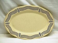 "Old Vintage Iroquois Restaurant Syracuse China 10"" Oval Serving Platter Plate"
