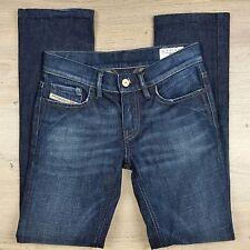 Diesel Industry LIV Stretch Women's Jeans Size W24 L34 Actual W27 L28.5 (F9)