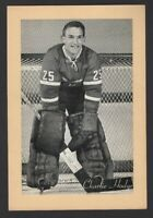 1944-63 Beehive Group II Montreal Canadiens Photos #251A Charlie Hodge
