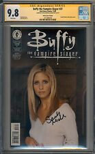 Buffy The Vampire Slayer #27 CGC SS Signed 9.8 Sarah Michelle Gellar Photo 019
