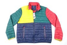 TOMMY HILFIGER 78E3626 RED GREEN 2XL COLOR BLOCK...