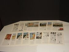 ANSCO CO 17 VINTAGE NATIONAL GEOGRAPHIC PRINT ADS  1932-1948  SNOWHITE