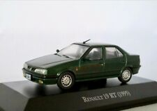 Renault 19 RT    1992-1995  dunkelgrün metallic   /    IXO/Altaya   1:43