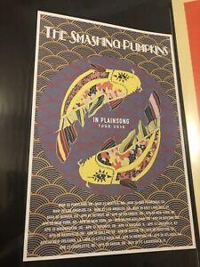 Smashing Pumpkins Tour Poster