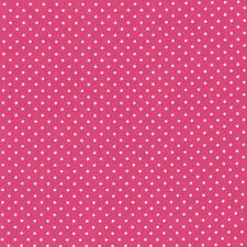 Tessuto stoffa cotone mini pois rosa fucsia cucito creativo cm 50 x 140