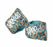 Speedo Fabric Armbands Blue Orange Begin to Swim AGES 2-12