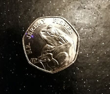50P FIFTY PENCE COIN 2017 BEATRIX POTTER MR JEREMY FISHER