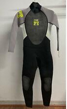 Body Glove Men's Pro 3 Full Wetsuit - Gray/Lime (Small)