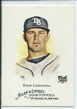 Evan Longoria 2008 Topps Allen & Ginter ROOKIE Card #177 MINT