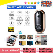 1080P Smart Wireless Doorbell Camera Video WiFi Security Door Bell Two-Way Talk
