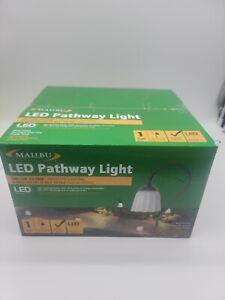 1-Malibu LED Pathway Lighting #8423-3105-01 1.3W/45 Lumens LED Finish-Pewter NEW