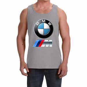 BMW  NEW Men's Tank Top Vest - Sleeveless t-shirt  print by EPSON